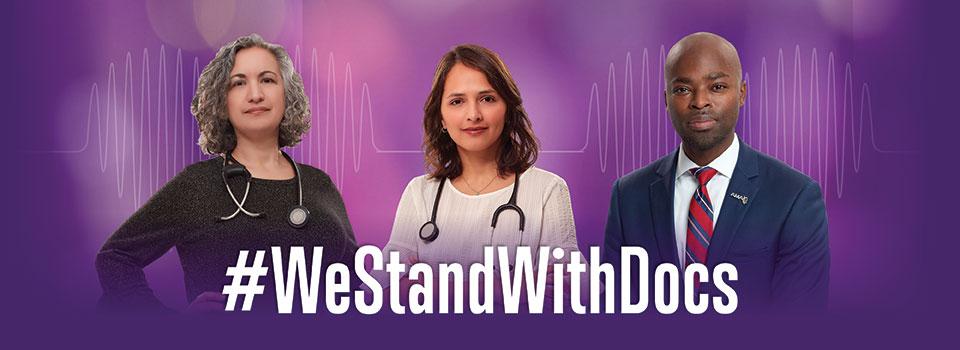 #WeStandWithDocs